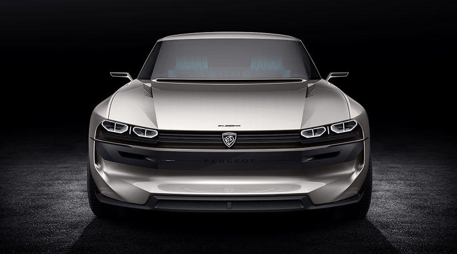 Mustang Car Wallpaper 4k Peugeot E Legend Concept Retour Vers Le Futur Avec La