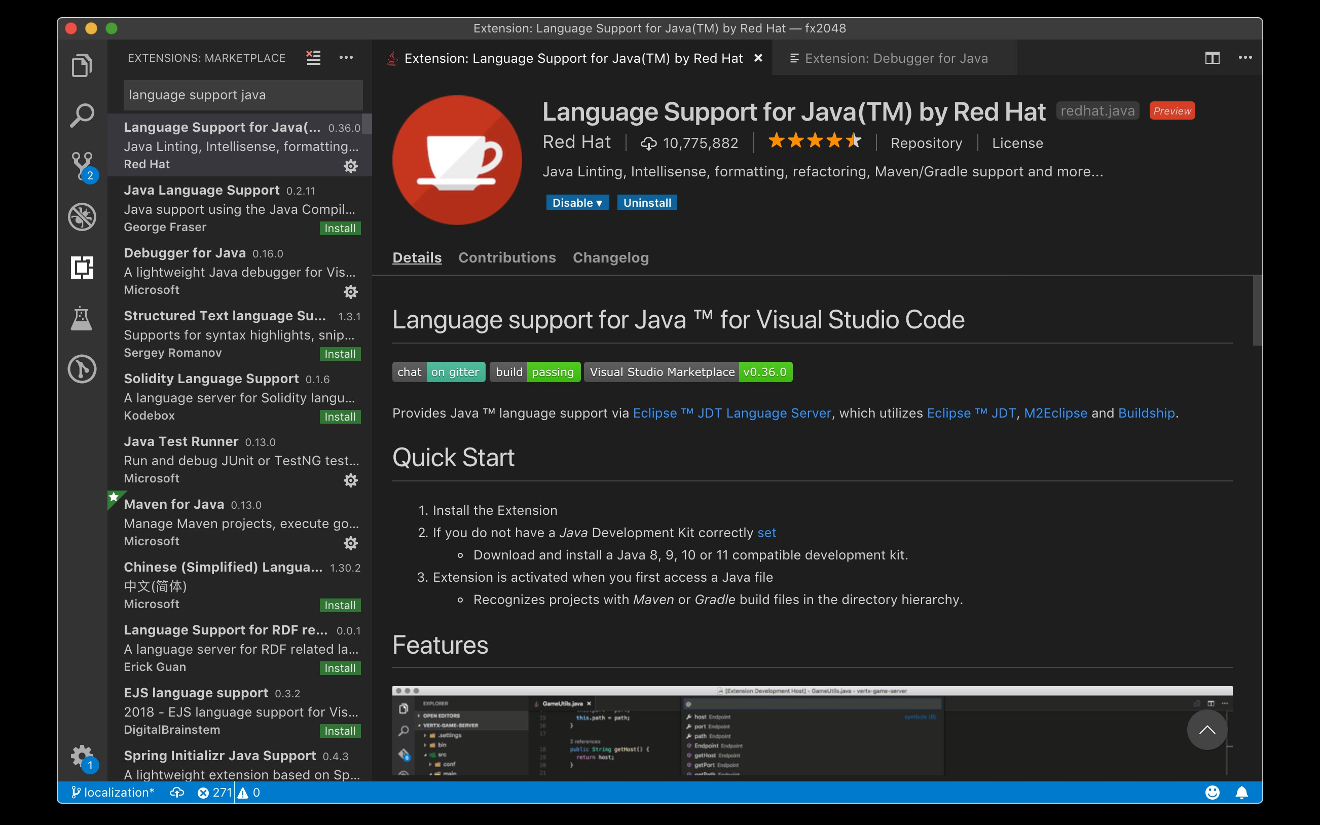 Visual Studio Code For Java The Ultimate Guide 2019 Dzone Java - File Server Java Program