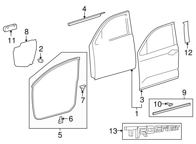 Lamp Diagram 2002 F750