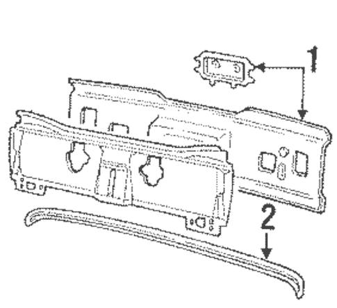 1989 buick lesabre Motordiagramm