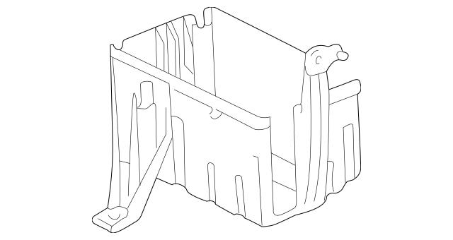 tacoma fuse box cover lower