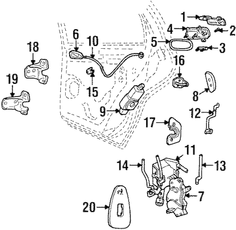 jeep cj7 engine hose diagram