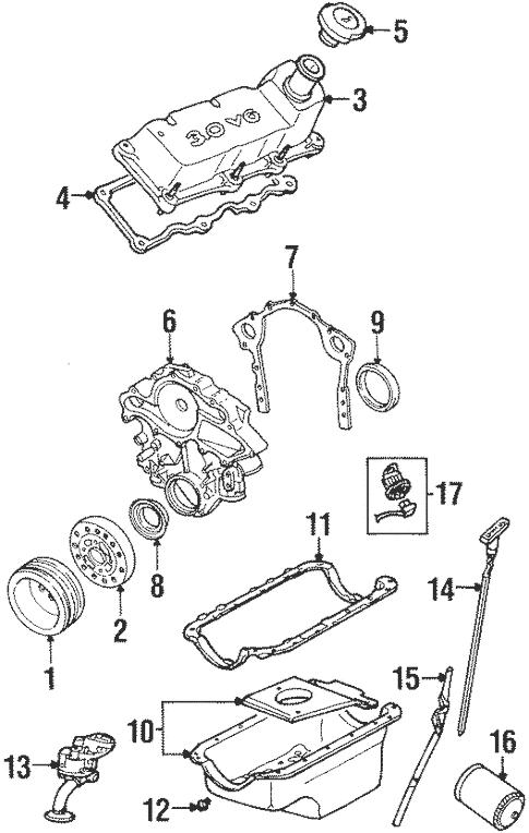 1999 ford taurus se engine
