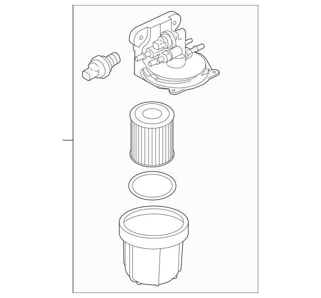 1932 ford fuel filter
