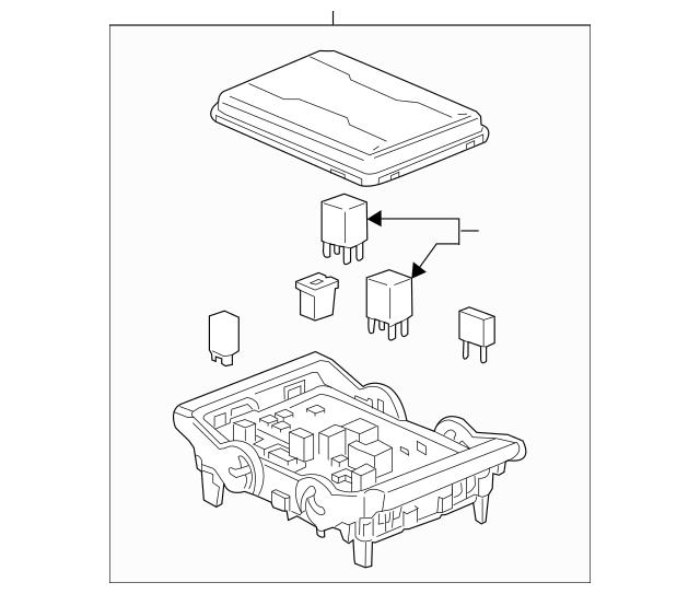 2015 sierra fuse box