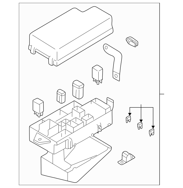 brz fuse box cover