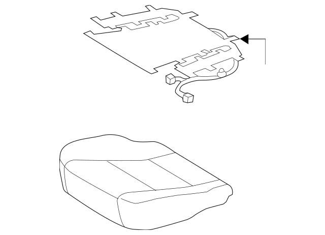 Cushion Cover Toyota 71072 06t00 C0 Lagrange Toyota