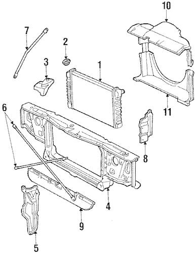 1984 oldsmobile 98 ledningsdiagram