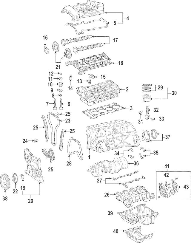 mercedes benz engine parts
