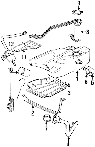 oem 1997 saturn sl2 filters parts