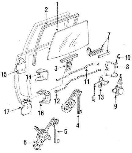 1995 oldsmobile cutlass ciera Schaltplang