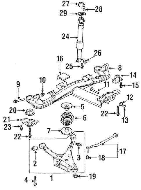 88 mustang rear wiring harness