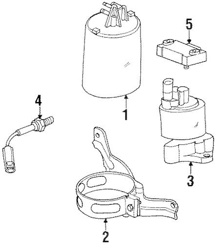 2001 saturn egr sensor