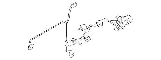 05 kia sorento rear wiring harness parts