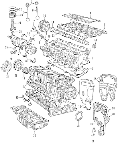 2004 volvo c70 engine diagram