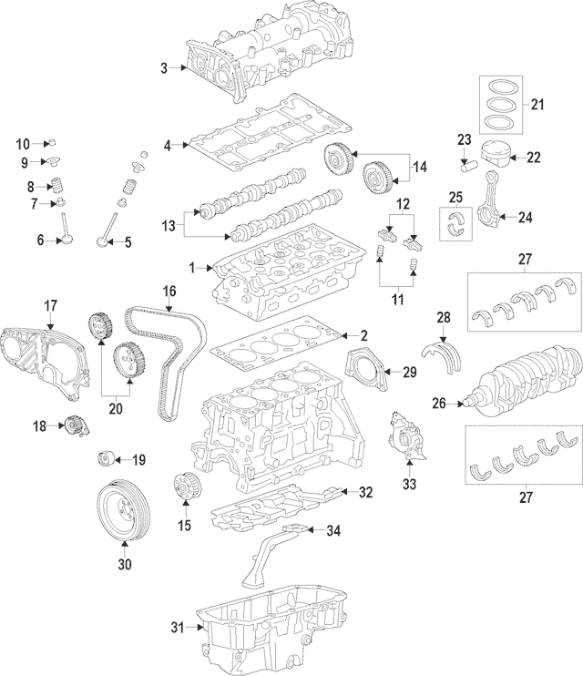 saturn timing belt list