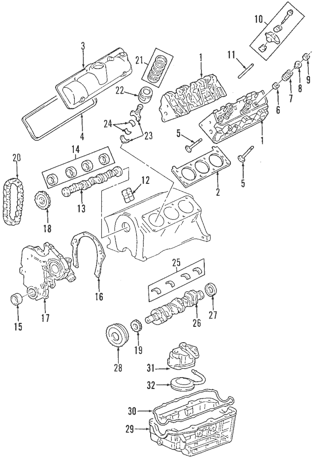 saturn transmission parts diagram