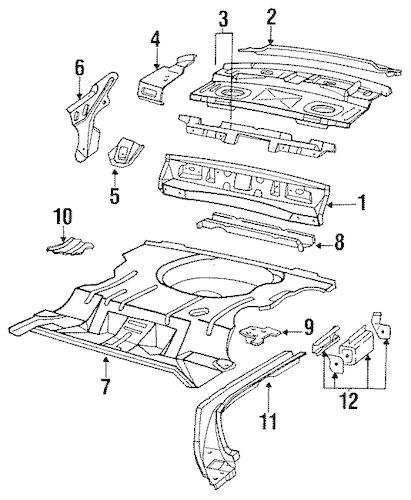 1993 chevy lumina Motordiagramm