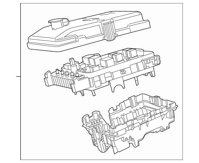chrysler pacifica interior fuse box