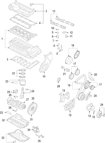 2006 jetta 2.5 engine diagram
