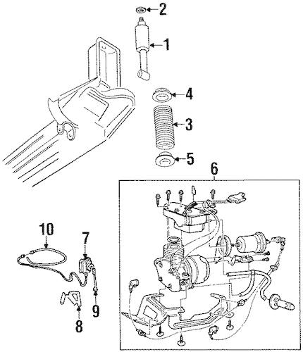 2001 cadillac deville water pump