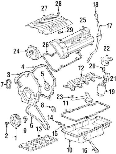 oldsmobile aurora fuel filter