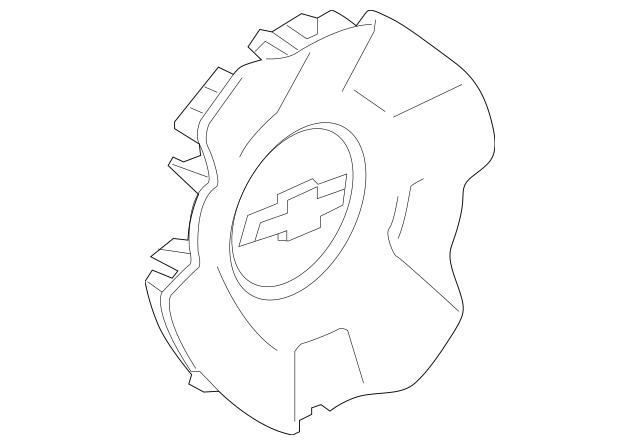 pontiac fiero hub cap