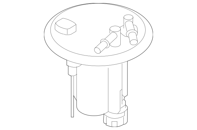 2010 forester fuel filter location