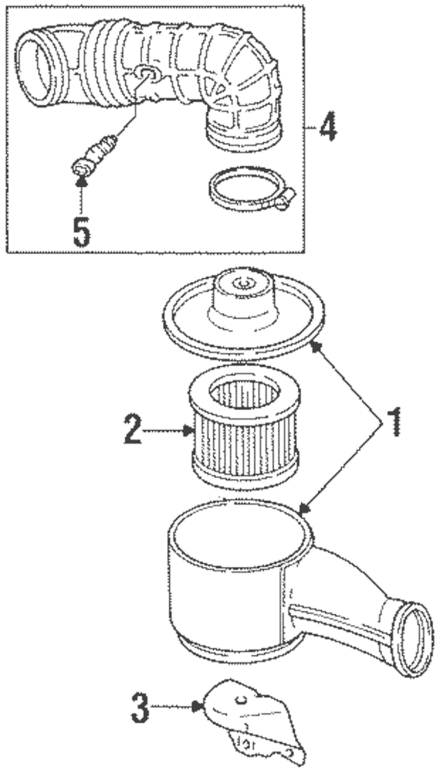gm 3800 oil filter assembly diagram