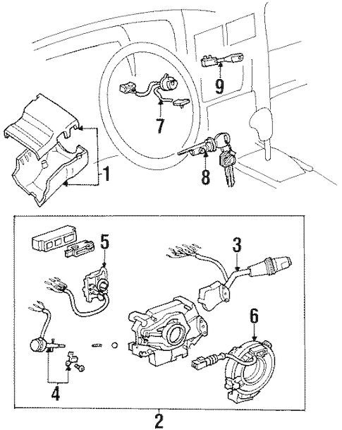 toyota 4runner ignition switch
