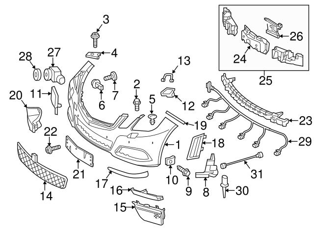 mercedes benz parts diagram 2015 sl400