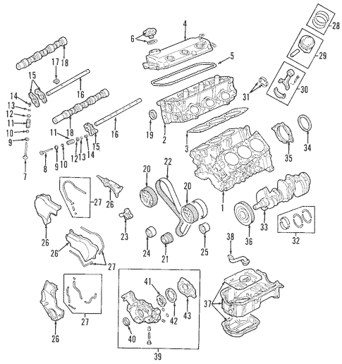 6g74 pajero engine diagram