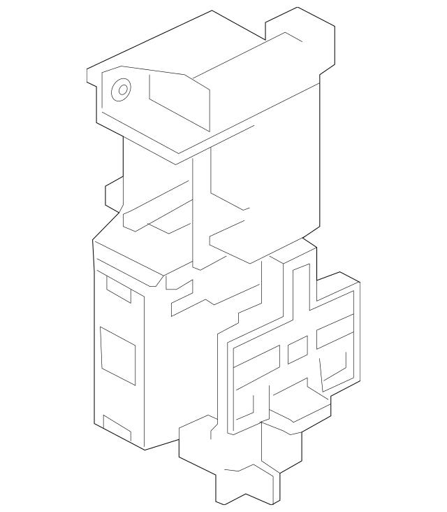rsx fuse box bracket