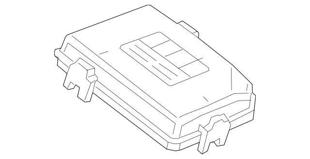 car fuse box lid