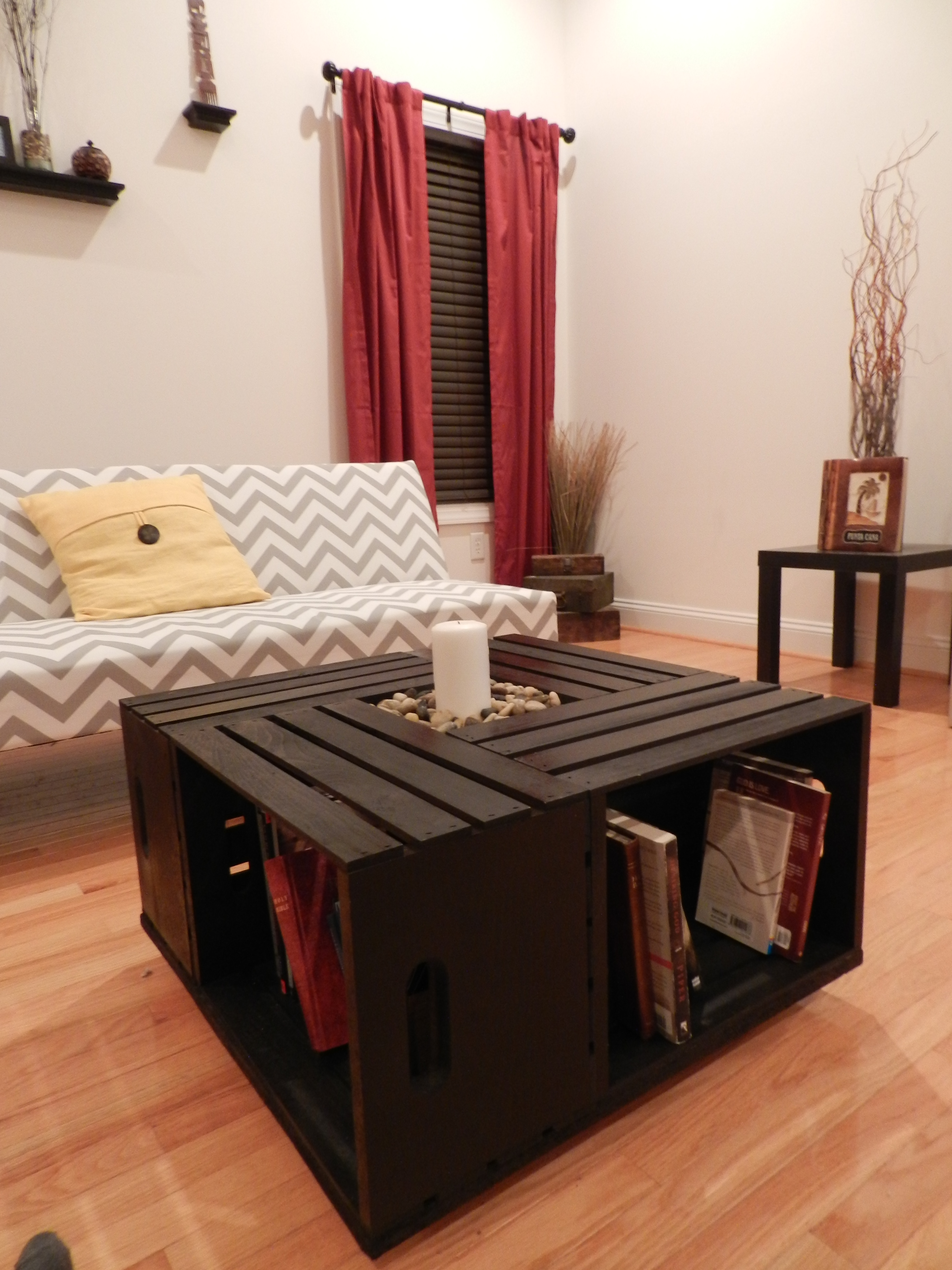 Wooden crate coffee table 183 crate creations 183 online store powered