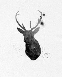 deer wall art  Roselawnlutheran
