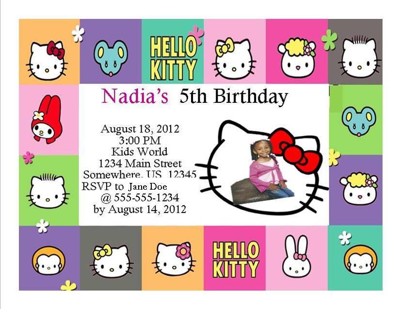 Hello Kitty Birthday Invitation 10 · Southern Desktop Publishing