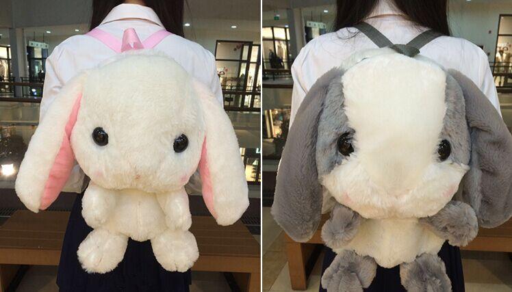 Rabbit Plush Backpack Bag Japanese Soft Sister Free