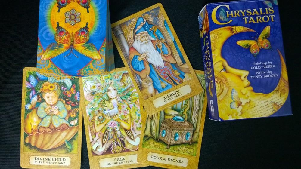 Chrysalis Tarot Deck 78 Cards Holly Sierra Toney Brooks