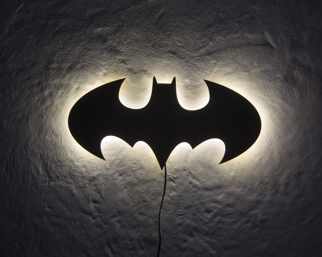 Lampada Batman Wall Lamp Batman On Storenvy