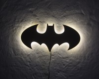 Wall Lamp Batman on Storenvy