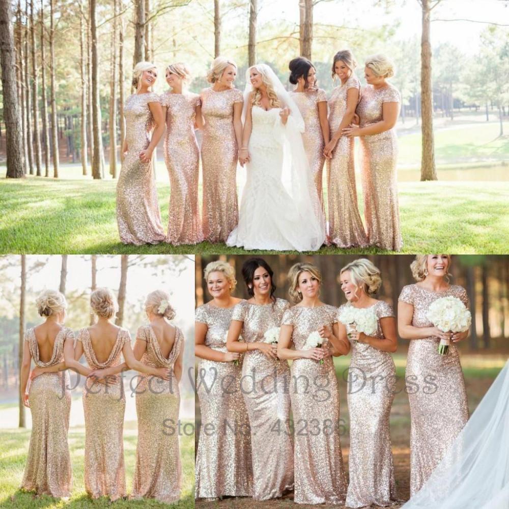 Fullsize Of Sequin Bridesmaid Dresses