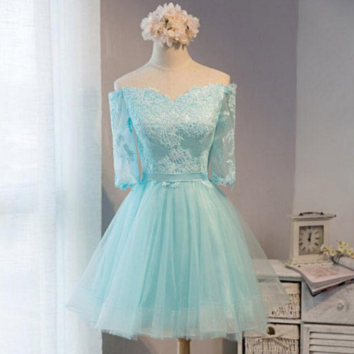 Medium Crop Of Tiffany Blue Dress