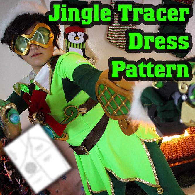 Jingle Tracer Dress Pattern · Fae\u0027s Trinkets  Prints · Online Store