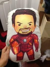 Derlaine | Iron Man Pillow | Online Store Powered by Storenvy