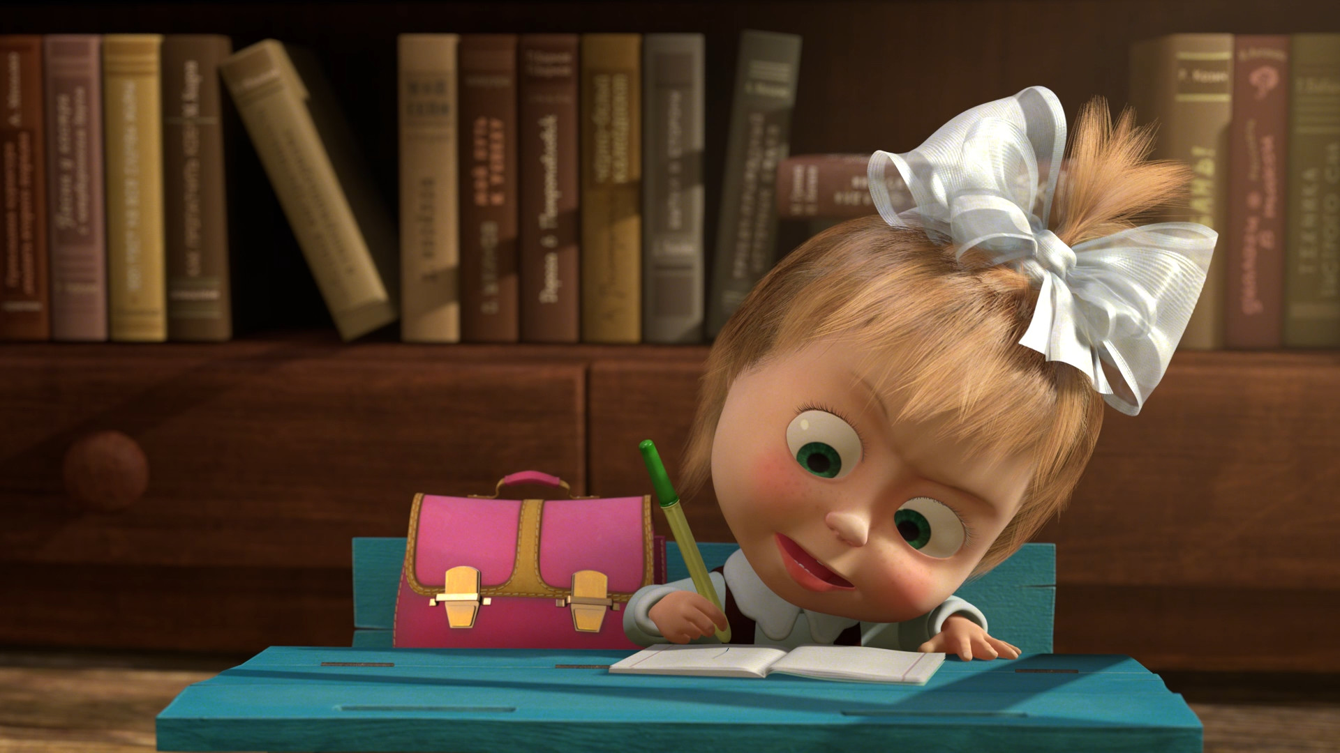 Studying Quotes Wallpaper Wallpaper Masha And The Bear 35 Dzbc Org