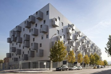 168 Social Housing in Madrid by Coco Architecture - 05