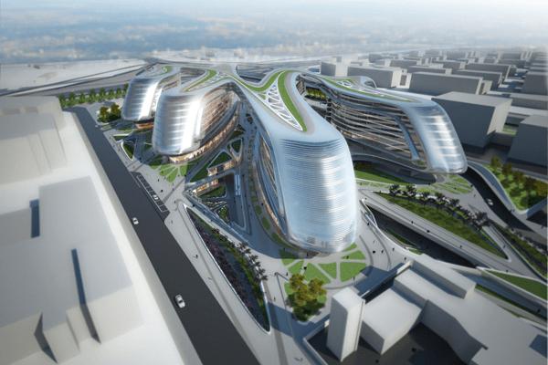 Futuristic Architecture By Zaha Hadid  Soho China