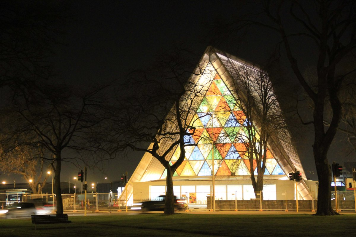Cardboard Cathedral by Japanese architect Shigeru Ban - 05