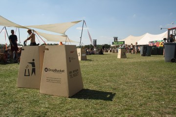 DropBucket - Waste bin made from recycled cardboard - 03